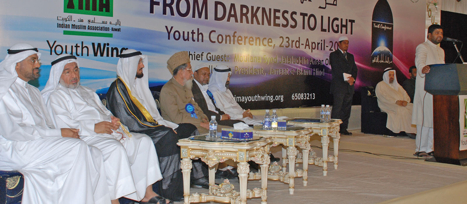 From Darkness to Light- An historic conference