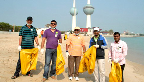 IMA conducts beach clean up drive