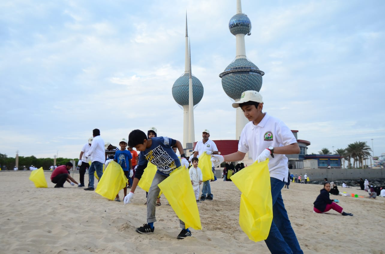 IMA Kuwait Beach Cleaning Drive